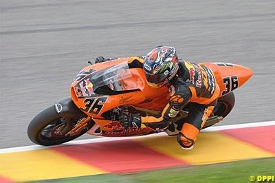 GP250 - KTM: Les tests de Brno ont bien failli plier le championnat
