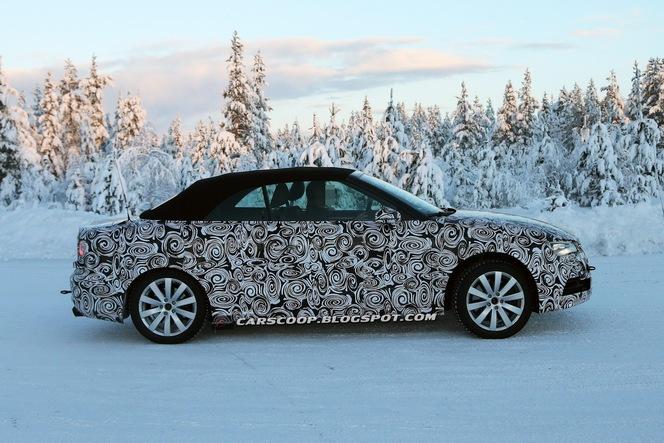 Surprise : la future Audi S3 cabriolet tricorps !