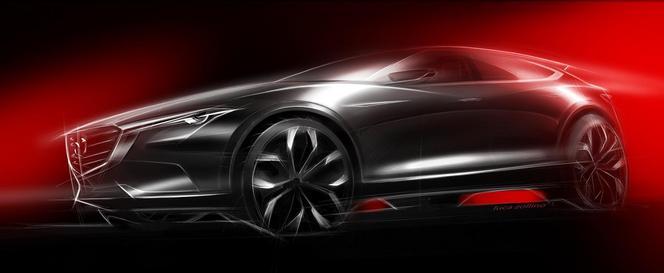 Salon de Francfort 2015 : Mazda Koeru, crossover en concept
