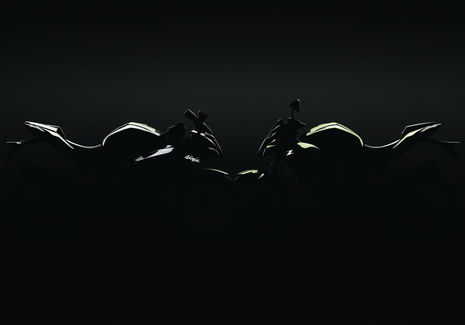 nouveaut 2018 kawasaki annonce deux 125 cm3. Black Bedroom Furniture Sets. Home Design Ideas