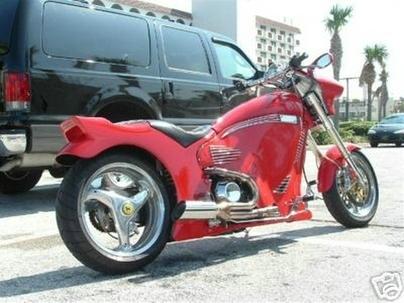 Ferrari Ducati 996 Custom Cruiser Pro Street ! ! !
