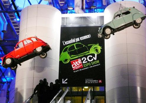 """Le C-Cactus présenté à l'exposition """"2CV Expo Show"""""""