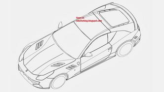 Revoici la Ferrari SP FFX, une ancienne Ferrari mystère