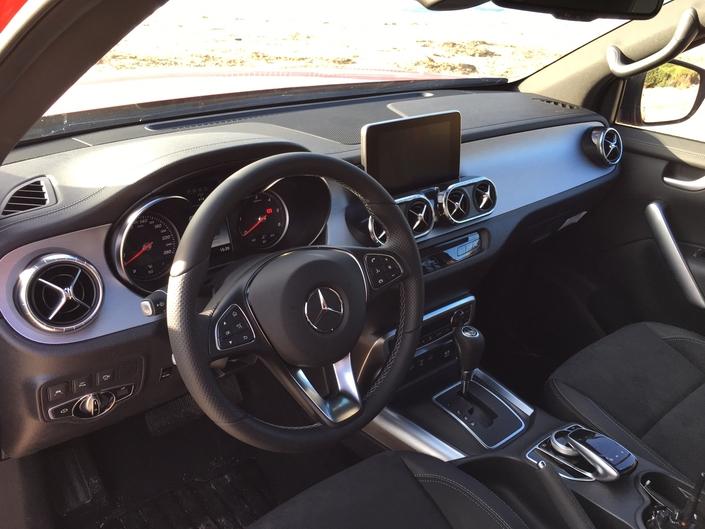 Mercedes Classe X : les premières images de l'essai en live + Premières impressions