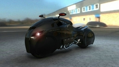 Concept Bike et vision du futur qui pourrait voir le jour s'il ne se brûle pas les ailes ...