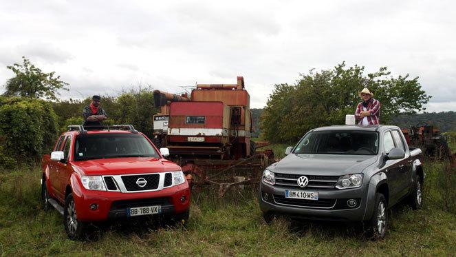 Volkswagen Amarok vs Nissan Navara : une affaire d'hommes