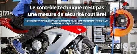 """""""Stop au contrôle technique"""": la pétition FFMC"""