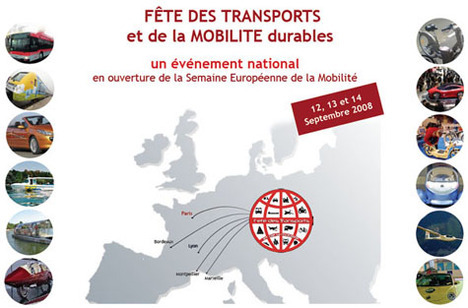La Fête des Transports et de la Mobilité durables 2008 organisée en septembre