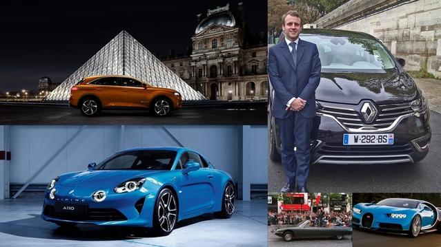 De DS à Renault en passant par Alpine (soyons fous!), de nombreuses possibilités automobiles s'offrent à Emmanuel Macron pour la passation de pouvoir dimanche 14 mai.