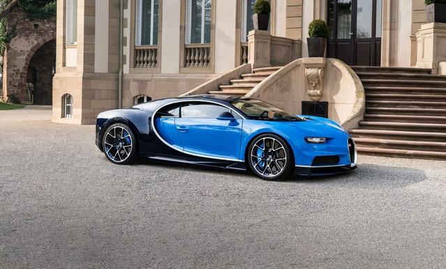 Elle est belle, elle est bleue, elle est fabriquée en France et fait rêver le monde entier. Bienvenue à l'Elysée!