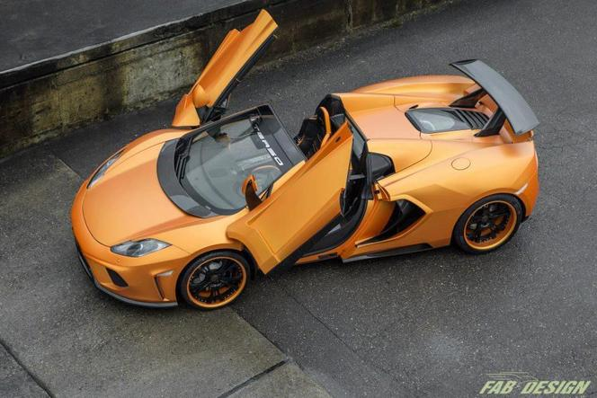 McLaren MP4-12C Spider Terso par FAB Design
