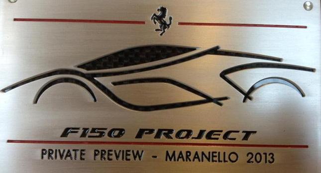 Vous voulez connaître toutes les caractéristiques de la Ferrari F150 ?