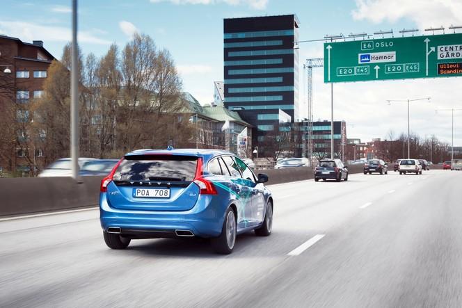 Les Volvo autonomes roulent déjà en Suède !