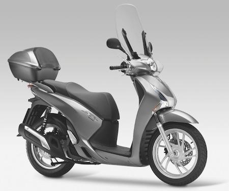 Le Honda SH 125 i (2013) se dévoile