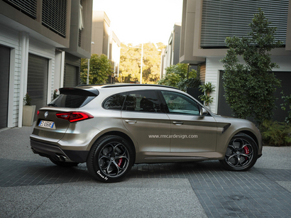 Design : un graphiste imagine le futur SUV Alfa Romeo