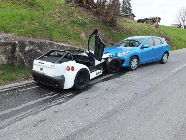 Il achète une Donkervoort D8 GTO et la crashe le lendemain