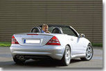 Mercedes SLK: deux caprices   pour le prix d'un