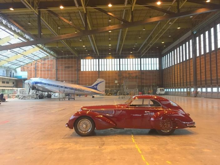 16,7 millions pour l'extraordinaire Alfa Romeo 8C de Rétromobile ! - Revivez l'enchère en vidéo