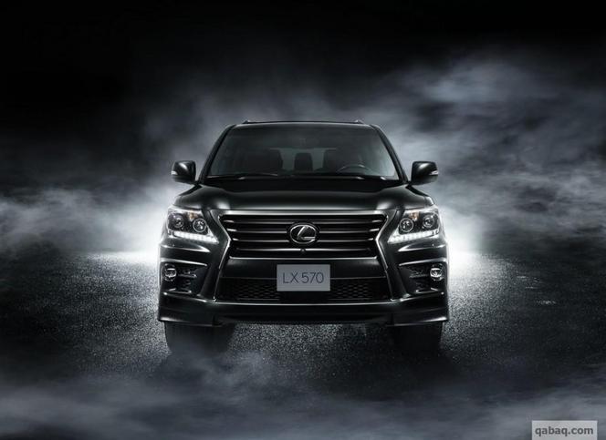 Lexus greffe un compresseur sur le LX 570