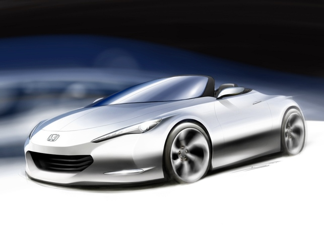 Honda OSM Concept au Salon de Londres : un petit roadster peu polluant