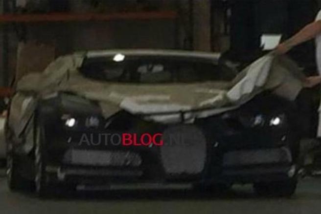 Surprise : est-ce la nouvelle Bugatti ?