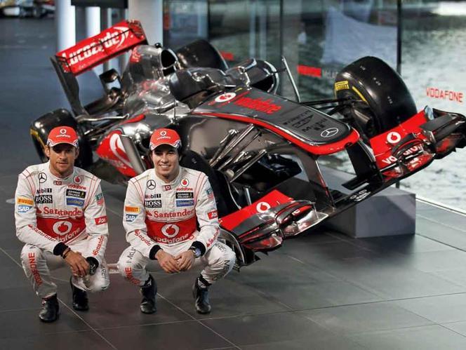 F1 : McLaren présente sa MP4-28