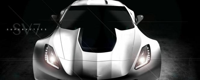 """Supervettes SV7: une """"super Corvette"""" en préparation"""