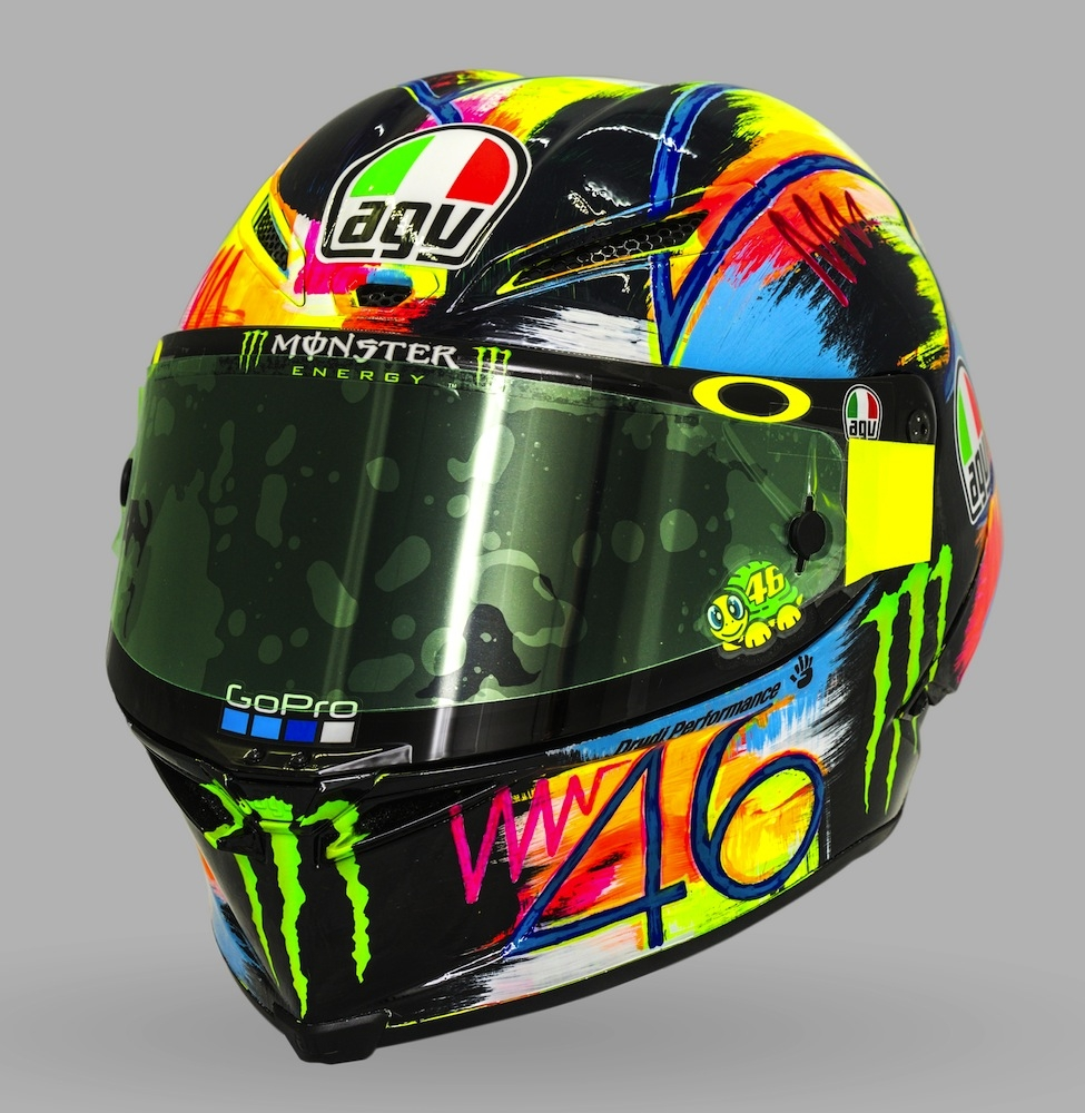 agv voici le pista gp r winter test 2019 sauce rossi. Black Bedroom Furniture Sets. Home Design Ideas