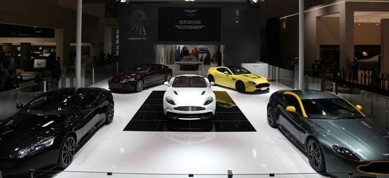 Aston Martin: une nouvelle plateforme en préparation et une question