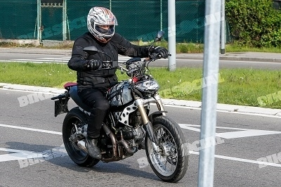 Nouveauté - Ducati: le Scrambler encore repéré
