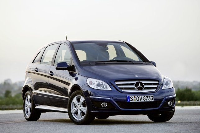 La Mercedes-Benz B 170 NGT BlueEFFICIENCY plus sobre