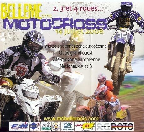 Lundi 14 juillet, 53ème motocross de Bellême
