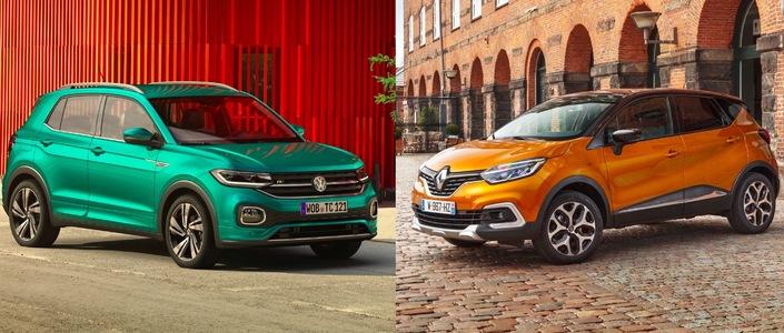 Les matchs du Salon de Genève 2019 - Volkswagen T-Cross vs Renault Captur