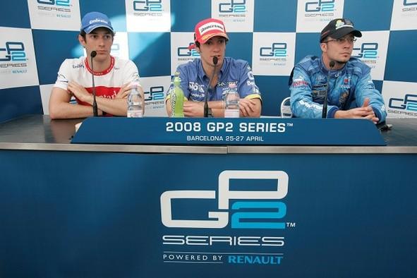 GP2 Barcelone Course 1 : Parente déjoue les pronostics