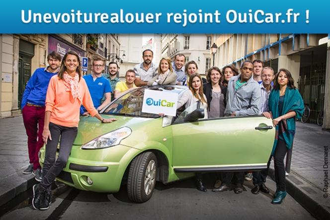 OuiCar s'offre Une voiture à louer