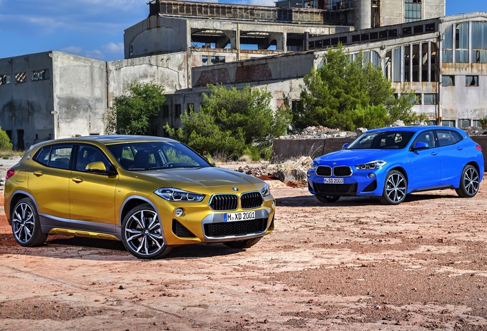 Premier match : BMW X2 vs Mercedes GLA
