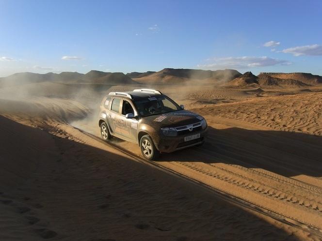 Duster Cap Maroc : partez à l'assaut des dunes en Dacia Duster