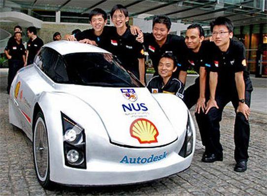 La NUS-ECO1 fonctionne au GTL carburant !