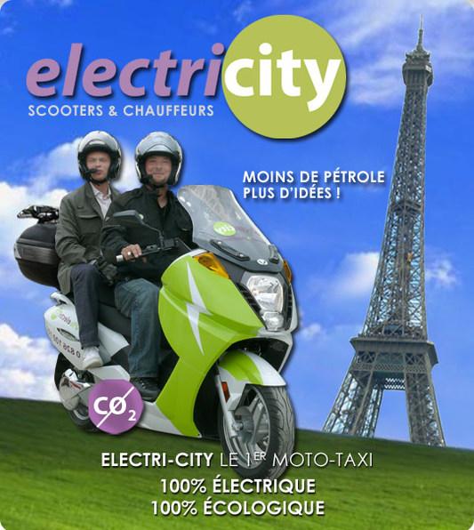 Service de moto-taxi : Citybird vous propose des véhicules électriques !