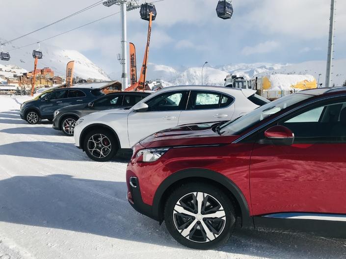 Reportage: 8 SUV testés sur neige et sur glace