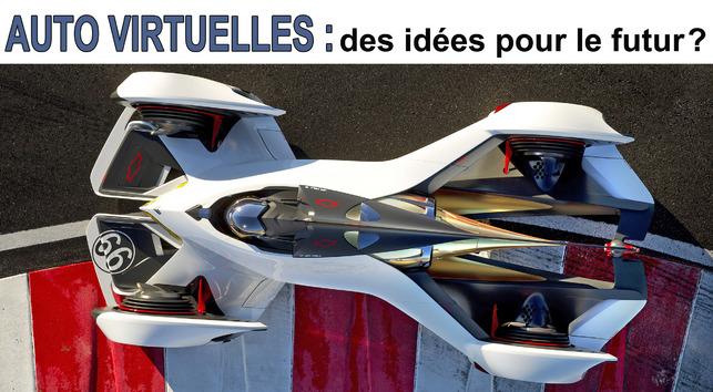 Automobiles virtuelles : des idées pour le futur ?