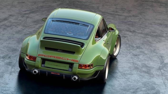 Singer, le spécialiste Porsche, dévoile une 911 de 500 ch et de moins d'une tonne