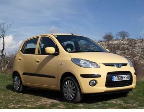 La Hyundai i10 : un bonus écologique de 700 euros