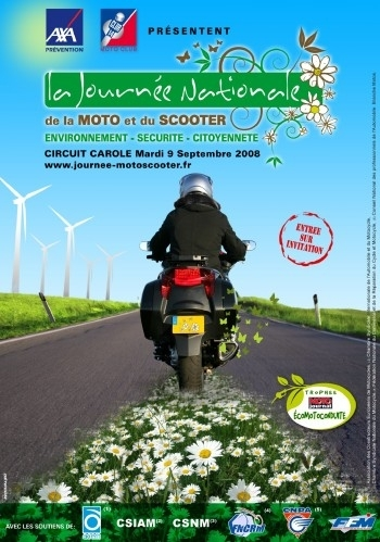 Calendrier : la Journée Nationale de la Moto et du Scooter