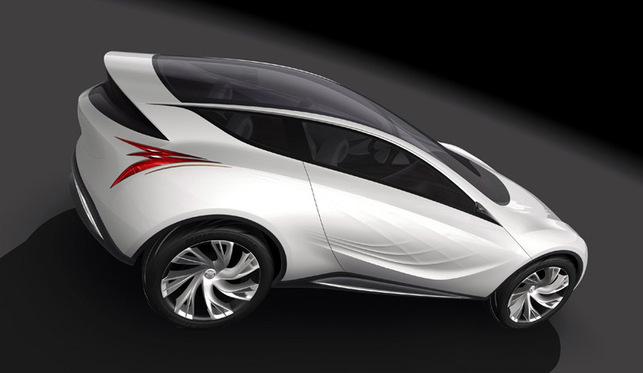 Le Concept Mazda Kazamai dévoilé au Salon de Moscou