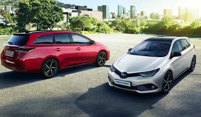 Toyota Auris: elle cède à la mode du bicolore