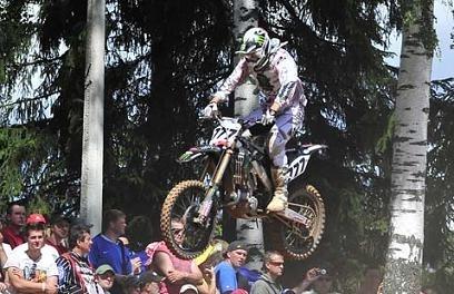 Motocross mondial : Lettonie MX 1, Desalle l'emporte en première manche devant le Russe Bobryshev