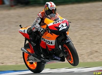 Moto GP - Allemagne D.1: Une chute contrariante pour Pedrosa