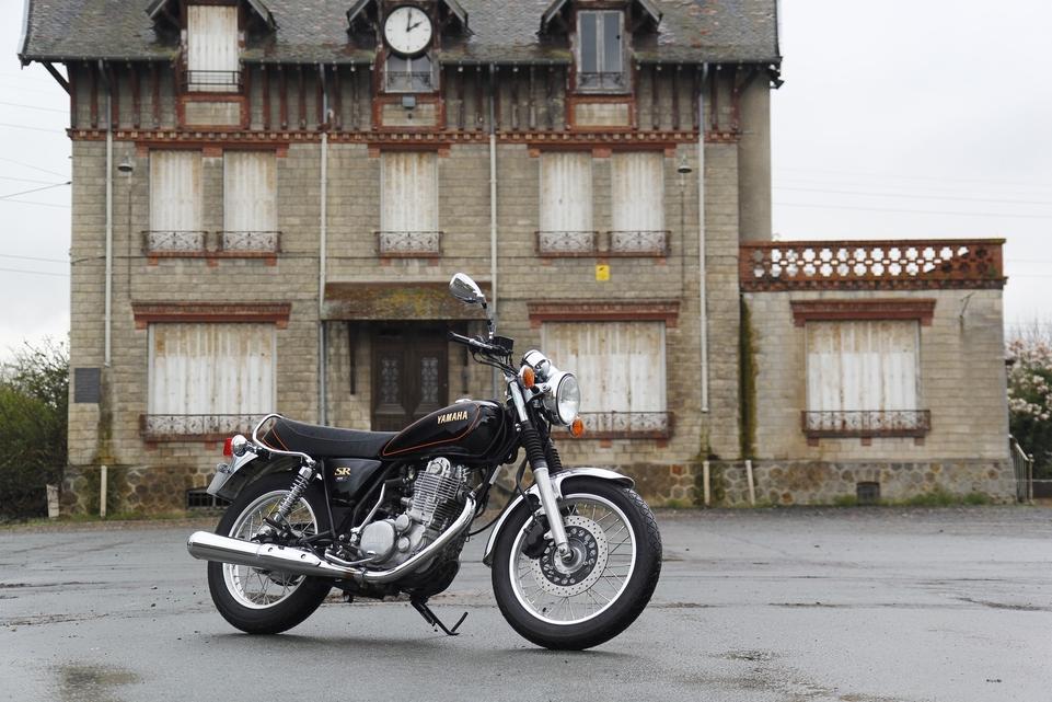 Essai Yamaha 400 SR : une longue histoire d'amour