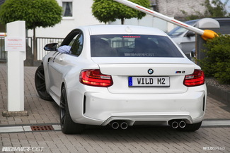 Surprise : voici la BMW M2